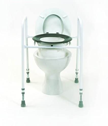 Fantastic Free Standing Raised Toilet Seat Frame Amazon Co Uk Creativecarmelina Interior Chair Design Creativecarmelinacom