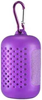 CQIANG 速乾性タオル、冷却タオル、フィットネス用ヨガタオル - 30 x 90 Cm用冷却ヘッドバンドスカーフ - 旅行用のクールタイプゴルフ&アウトドアスポーツ、ブルー (Color : Purple, Size : 30*90cm)