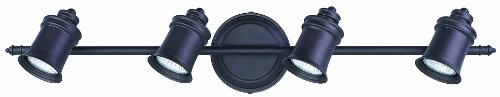 (Canarm IT299A04ORB10 Taylor 4-Bulb Wall Mount Track Light, Oil Rubbed Bronze)