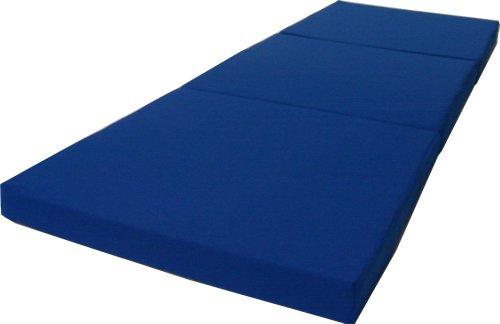 D&D Futon Furniture Royal Blue Shikibuton Trifold Foam Beds 3