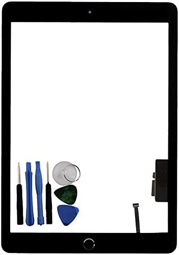 USA Touch Screen Digitizer Glass Home Button For iPad 5th 2017 Gen A1822 A1823