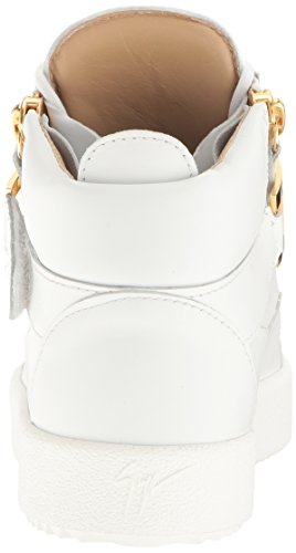 Giuseppe Zanotti Women's Rs7068 Fashion Sneaker White 87mtlToR