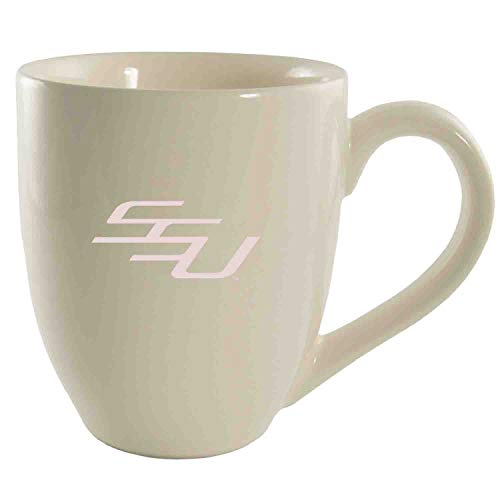 Savannah State University-16 oz. Bistro Sold Ceramic Mug-Cream (Bistro Savannah)