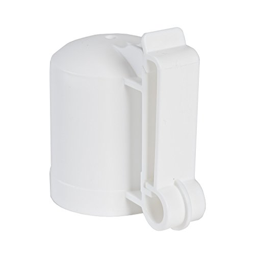 - Zareba ITCPW-Z T-Post Safety Cap and Insulator, White, 10 per Bag