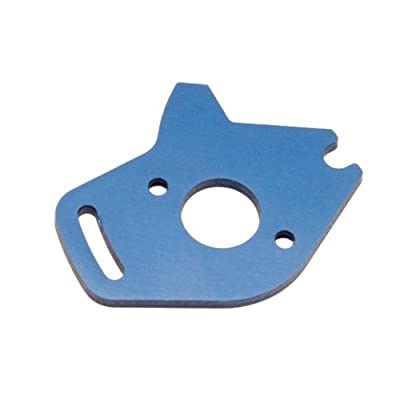 Traxxas 6890 Blue-Anodized Aluminum Motor Plate: Toys & Games