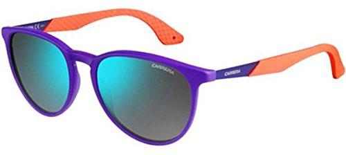 Carrera 5019/S Sunglasses Violet Orange / Khaki Mirror Blue