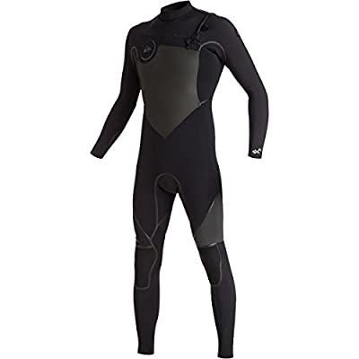Quiksilver Mens Syncro 4/3Mm - Chest Zip Full Wetsuit Chest Zip Full Wetsuit