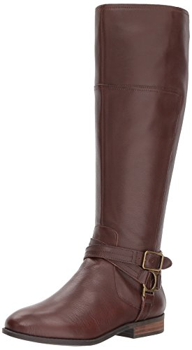 Marc Fisher Women's Aliza Knee High Boot, Brown, 6.5 Medium US by Marc Fisher