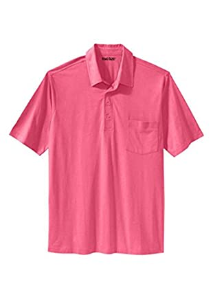 Kingsize Men 39 S Big Tall Golf Polo With