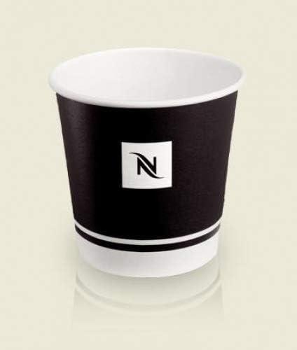 Nespresso Espresso Disposable Paper Cups (100ml) - 50 Pcs