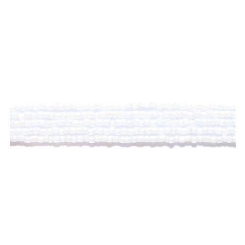 (Preciosa Ornela Czech 3-Cut Style Seed Glass Bead, 12/0-Size, Pearl White)
