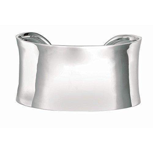 Rhodium argent Sterling plaqué Bracelet Bracelet-JewelryWeb