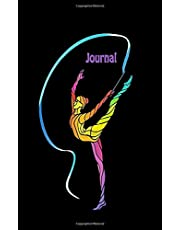 Journal: Rhythmic Gymnastics Mini Journal Notebook, 100 pages-50 sheets, compact size