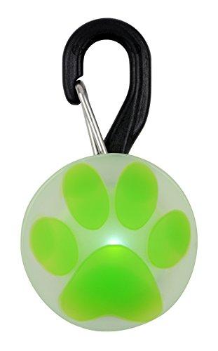 Nite Ize PetLit LED Collar Light White LED - Paw Green