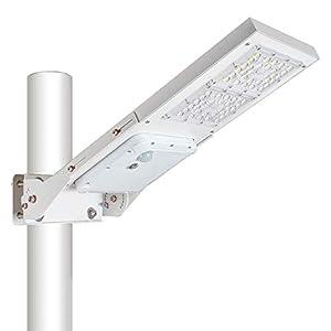 30W Outdoor LED Solar Street Light,IP65 Waterproof White 6000K Solar Security Light Motion Sensor Dusk to Dawn with…