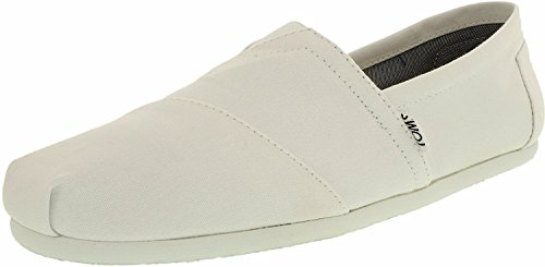 Canvas M Optic White Ankle-High Flat Shoe - 8.5M ()