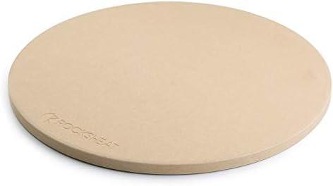 ROCKSHEAT 14.2 x 0.6 Round Cordierite Pizza Stone