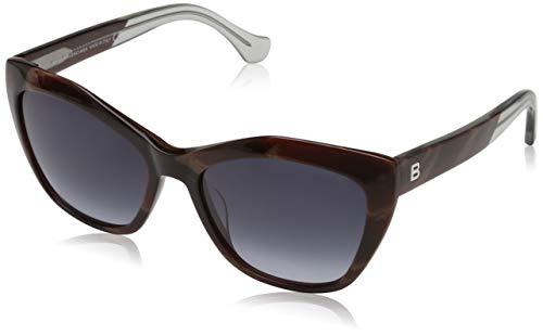 Sunglasses Balenciaga BA 0047 64W coloured horn / gradient blue