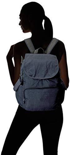 Kipling womens Zax Backpack Diaper Bag, Night Grey, One Size