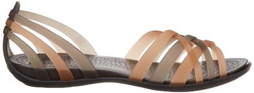 Crocs Hurcheflatw Uk Kultainen 2 5 Sandaalit Naisten Koko FFprqnwC5