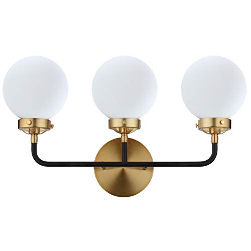 Three Light Sconce 3 Bulb - JONATHAN Y Caleb 3-Light 22
