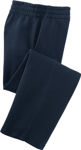 Youth No Pocket Sweatpant - Sport-Tek Youth Ring Spun Slash Pocket Sweatpant_True Navy_Medium