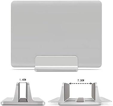 Lfhing Soporte Vertical de Aluminio para Ordenador port/átil Soporte Vertical para Ahorro de Espacio