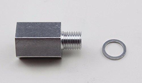 Temp Sensor Adapter - LS Coolant Temp Sensor Adapter M12 X 3/8 NPT Temperature Sensor Adapter