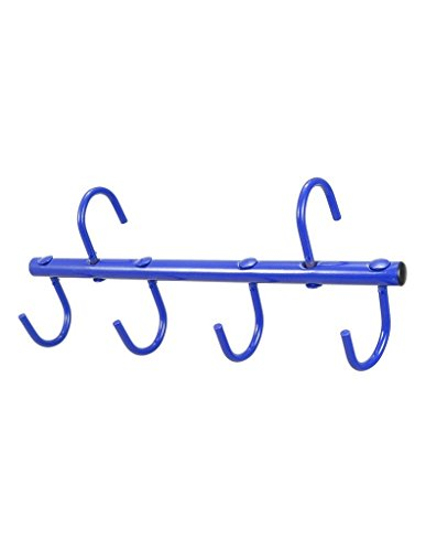Tough 1 Tough-1 4-Prong Portable Tack Rack, Royal Blue