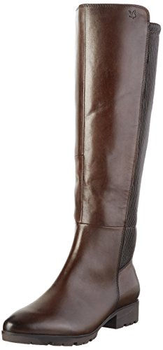 Comb Brown 25617 328 Brown Boots Dk Women's Long Caprice TwqvRF