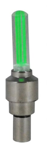 Mammoth XT Fahrrad LED Blinklicht Rad Ventilkappe - Sicherheitslampe / Rad Speichen Blinklicht / Motorrad / Fahrrad / Auto - Grün