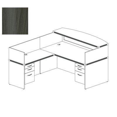 Mayline Aberdeen Series Typical 36 Reception (Mayline Reception Desk)