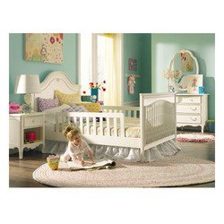 Ma Marie Pair Safety Rails for Transition Bed -Antique White