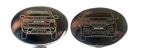 Hecho A Medida Coche Gemelos - Shape of tu coche Grabado en Calidad Superior gemelos -