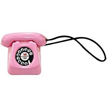 Vintage Red Telephone Cute Dollhouse Miniature 1:12 Scale Doll Mini Life Scene