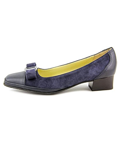Amalfi Pumps - Amalfi by Rangoni Womens Mambo Cap Toe Classic Pumps, Navy, Size 5.0