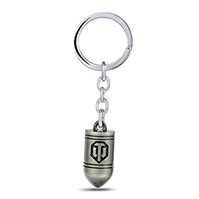 Amazon.com: Game Jewelry World Of Tanks Keychain Wot Metal ...
