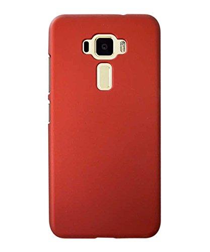 COVERNEW Plastic Back Cover for Asus Zenfone 3 Laser ZC551KL  5.5 Iinches    Red 1Hbackk_Zenfone3Laser5.5Red