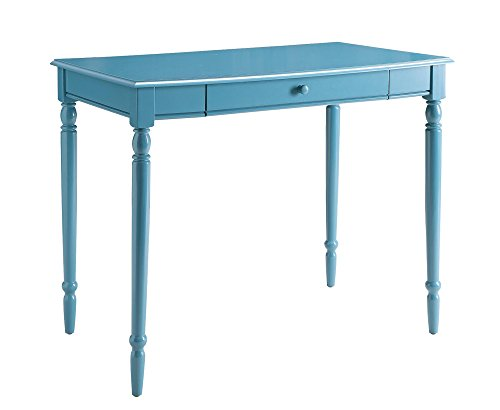 Blue Rustic Desk (Convenience Concepts French Country Desk, 36-Inch, Blue)