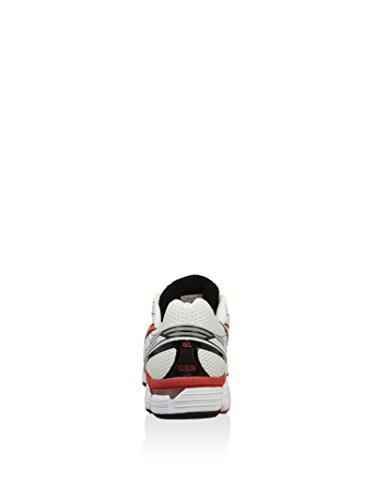 Asics Running Gt-2000 (B) - - Hombre Blanco / Rojo / Negro