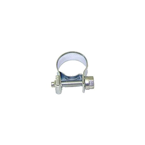 (Eckler's Premier Quality Products 80364456 Chevy Power Steering Return Hose Clamp Screw Type)