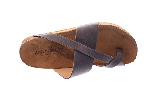 Haflinger Men's John Ankle Strap Sandals, Blue Blue (Bali 835)