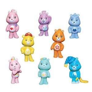 Care Bears Series 2 Set of 8 Very Small Capsule Toys - Vending Toys (Figurines Bears Care)