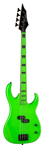 Dean Custom Zone Bass, Nuclear Green Custom Bass Guitar Bodies