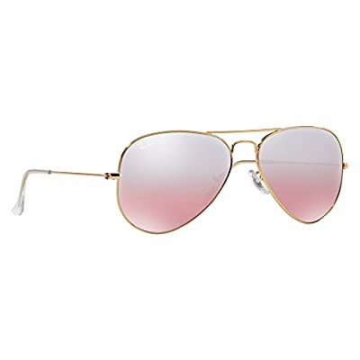 Ray Ban 0RB3025 Men's Aviator Large Metal Sunglasses