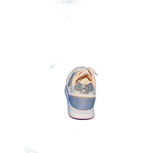 Lotto Damesleggenda Plak Beige En Goud Lederen Sneaker Beige