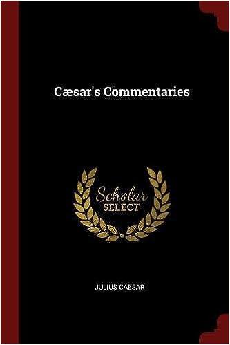 Cæsar's Commentaries