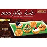 Athens Foods Mini Fillo Shell, 1.9 Ounce - 12 per case.