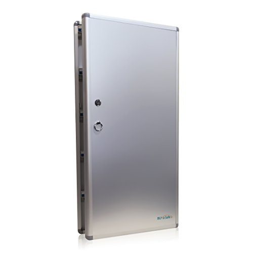 B1120 Large Aluminum & Hardboard Key Cabinet 120 keys