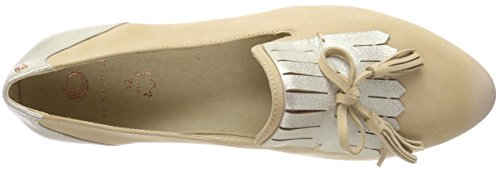 Mocasines Beige sand Be 24742 Mujer Natural Para wqHqE